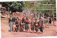 Thaïlande - cpsm - Meos gathering at Meo village, behind doisuteb mountain