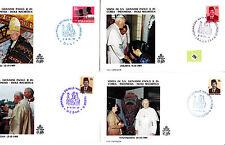 Vatican  Jean Paul II  FDC&/or max card  div lot II   289