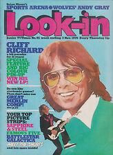 LOOK-IN MAGAZINE 3 November 1979 Cliff Richard Andy Gray Wolverhampton FC