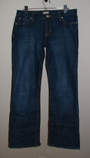 GAP CURVY FLARE LOW RISE STRETCH JEANS SIZE 10/30 REGULAR