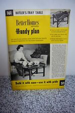 Butler's Tray Coffee Table 161 Building Plan 1955 Better Homes Gardens blueprint