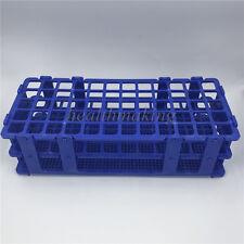 60 Holes 16mm 3 Layers Plastic Test Tube Rack Holder Storage Stand Lab Equipment