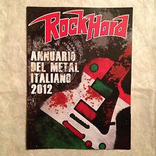 ROCKHARD ANNUARIO DEL METAL ITALIANO 2012