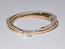 Beauty-Modeschmuck-Armbänder aus Leder ohne Stein