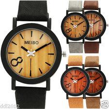 Fashion Women's Men's Classic Watch Leather Quartz Analog Casual Wrist Watches