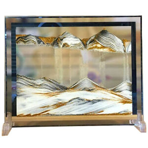 Moving Sand Art Picture Deep Sea Dynamic 3D Sandscapes Pictures in Motion OfW2K2