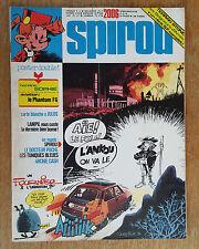 SPIROU N°2006 / DU 23 SEPTEMBRE 1976 / AVEC POSTER DOUBLE SOPHIE / B+.