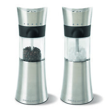 Cole & Mason Westbury Salt And Pepper Mill, Acrylic and Stainless Steel, 180 mm