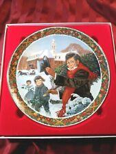 """Royal Windsor A Christmas Carol Plate """"O Christmas Tree"""" 1983"""