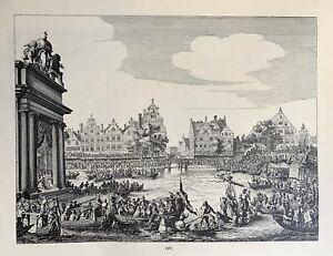 Amsterdam - Marie de Médicis - Maria de Medici - exile - de Vlieger - Gracht