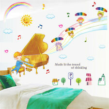 Dream Piano Music Room Home Decor Removable Wall Sticker Decal Decoration