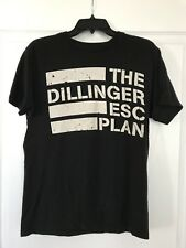Dillinger Escape Plan Black White Medium Shirt