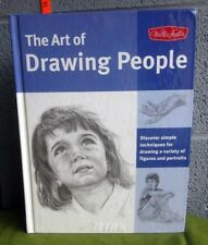 WALTER FOSTER Art of Drawing People technique book Figures & Portraits 2012 hc