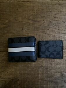 Coach Mens Leather Wallet