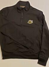 Disney Cruise Line Half Zip Black Jacket Retail $80