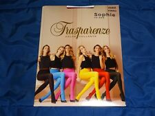 TRASPARENZE SOPHIE 70 DENIER TIGHTS SIZE MAXI ROSSO (RED)