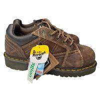 Dr Doc Martens Industrial Steel Toe Black Safety Boots ASTM F2413 Mens Size 6 M