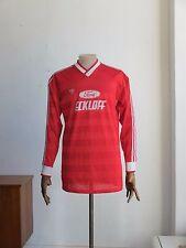 adidas HERRENSPIELERHEMD D 7/8 Trikot rot GB L Shirt True Vintage Westgermany