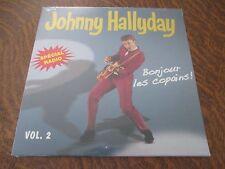 RARE 33 tours JOHNNY HALLYDAY special radio! bonjour les copains! volume 2 2012