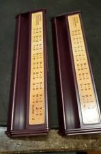 Scrabble Deluxe Edition Burgundy   Replacement Part Letter Holder Rack Lot of 2