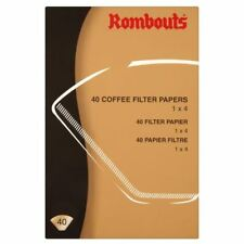 Rombouts Coffee Filter Papers - 4 Cups (40)