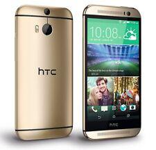 "Gold New HTC One M8 Unlocked 5"" 4G Quad-Core Dual 4MP Cellphone 32GB"