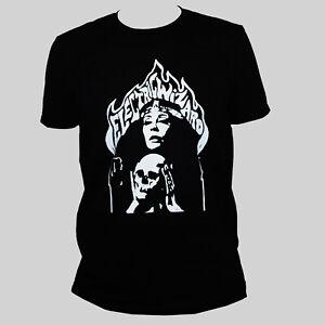 Electric Wizard Stoner Doom Metal Music Poster T shirt Black Classic Fit Tee