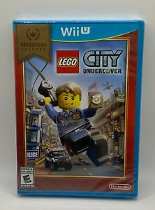 LEGO City Undercover Nintendo Selects (Nintendo Wii U, 2016) SEALED NEW NIB