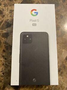 Brand New- Open Box Google Pixel 5 5G 128GB - Just Black (Unlocked)