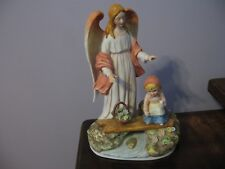 1977 Ceramica Excelsis Angel and Child Figurine