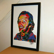 Jack Nicholson, The Shining, One Flew Over the Cuckoo's Nest, 11x17 Print w/Coa