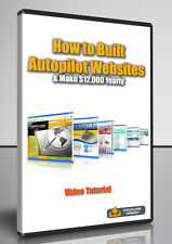 How to Build Autopilot Websites & Make $12,000 Yearly - Video Tutorial