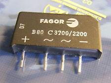 3x B80C3700/2200 Bridge Rectifier, Fagor