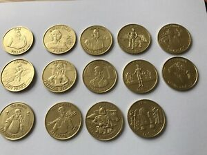STAR WARS DROIDS REPRODUCTION COIN SET PERFECT FOR CUSTOM PROJECTS VLIX,FETT etc