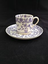 EARLY COPELAND COFFEE CAN AND SAUCER C-1847 NICE