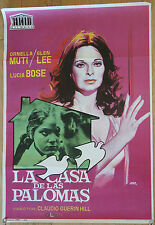Used - Cartel cine  LA CASA DE LAS PALOMAS  Vintage Movie Film Poster - Usado