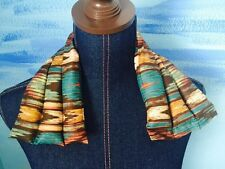 rice flax heat pad hotcold shoulder neck wrap pack LONG 21x6 Therapeutic Ikat