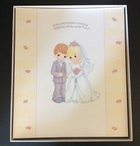 Hallmark Precious Moments New In Box Bride & Groom Photo Album