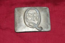 Old SR Q Class Belt Buckle Southern Railway 060 Steam Locomotive Railroad Train