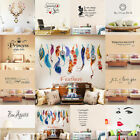 Removable Quote Word Art Vinyl Wall Stickers Mural Home Kitchen Room Decal Decor