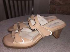 Beautifeel Begonia SZ EU 41 US 10 Beige  Leather Sandals $200 Retail