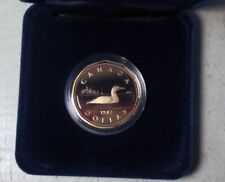 1987 Canada Dollar Loon in case uncirculated proof edition
