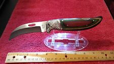 BEAUTIFUL VINTAGE FROST CUTLERY, EAGLE TALON, FROST WOOD HANDLE NEW IN BOX MINT