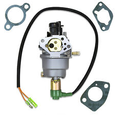 New Carburetor With Solenoid Fits Huayi HY140 140 Generator Type B Gaskets