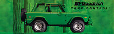 """REPRODUCTION BF GOODRICH Banner 1971 FORD BRONCO 21""""x72"""""""