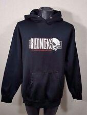 Slednecks Brand Skull Hoodie Jacket Sweatshirt Rare Athlete Size M/MEDIUM Hoody