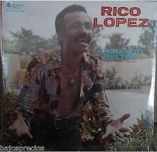 RARE salsa LP RICO LOPEZ conArmando Beltre y su conjunto especial CANTO DE REMOS