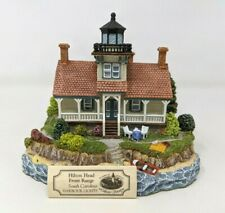 Harbour Lights Society Hilton Head Front Range Sc #551 Lighthouse Figurine Fw20