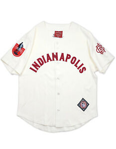 INDIANAPOLIS CLOWNS NEGRO LEAGUE BASEBALL JERSEY Vintage collection Jersey