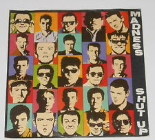 "Madness - 7"" SINGLE + product Facts-Shut Up-Teldec 6.13 260"